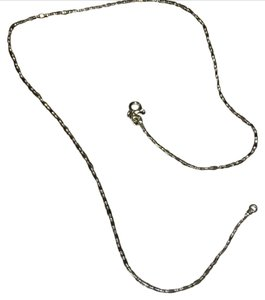 Nordstrom 18k white gold plated Necklace