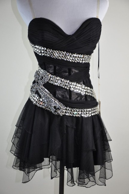 Mandalay New Rhinestone Cross Lace Tulle Size Dress