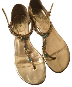 Charles by Charles David gold Sandals