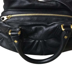 Marc Jacobs Satchel in black with gold hardware