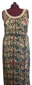 Multicolored Maxi Dress by AGB