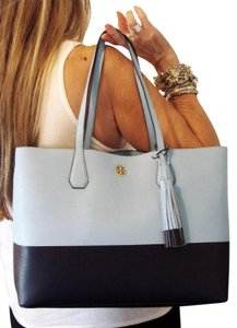 Tory Burch Tote in Riviera Blue/Tory Navy