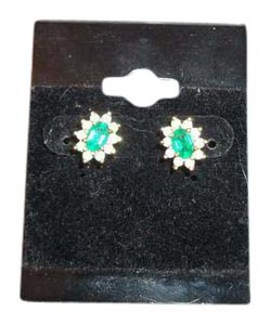 Other Emerald and diamond earrings