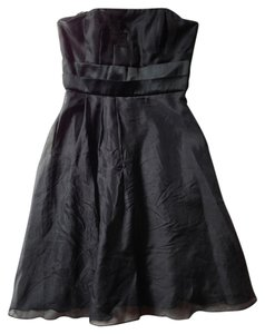 White House | Black Market Strapless Pleated Dress