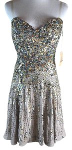 Mandalay Crystal Rhinestone Brading Dress