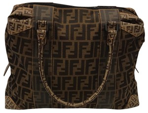 Fendi Satchel in Tan/Brown