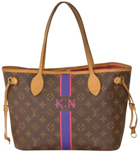 Louis Vuitton Monogram Neverfull Tote in Brown
