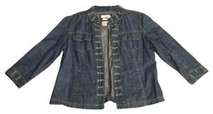 Live A Little Jean material Womens Jean Jacket
