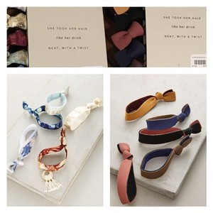 Anthropologie NWT Bundle of 2 Sets of Hair Ties