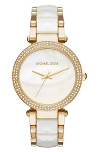 Michael Kors Michael Kors Women's Parker Two-Tone Acetate Bracelet Watch MK6400