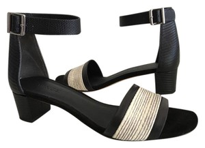 Vince black and white Sandals