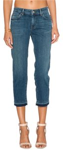 Velvet by Graham & Spencer Capri/Cropped Denim-Medium Wash