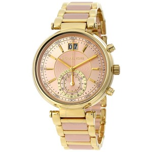 89d35311b6ce Michael Kors Michael Kors Women s Sawyer Gold-Tone Bracelet Watch MK6360