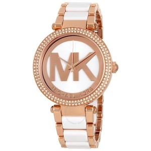 Michael Kors Michael Kors Women's Parker Rose Gold-Tone Bracelet Watch MK6365