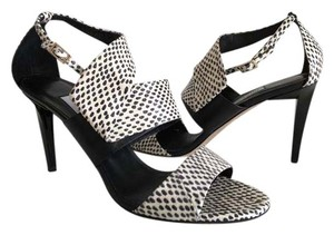 Jimmy Choo black and white Sandals