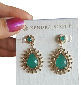 Kendra Scott Kendra Scott Green Lindens