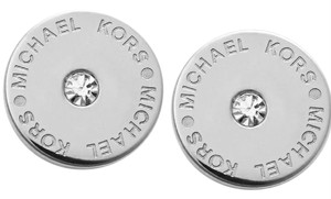 Michael Kors Nwt Michael Kors Pave Silver Stud Earrings