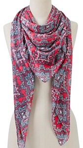 Talbots regal tile scarf