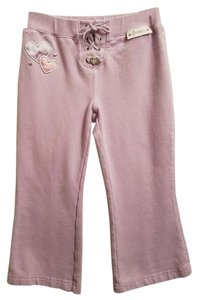 Skechers Stretchy Children Machine Washable Flare Pants Lavender