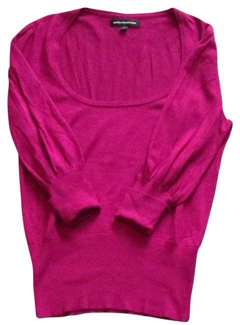 Preload https://item4.tradesy.com/images/express-magenta-sweaterpullover-size-4-s-2084003-0-0.jpg?width=400&height=650