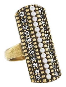 Silpada NEW Silpada Pearls Night Out Ring KRR0024 Size 8.5