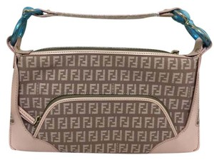Fendi New Pink Light Pink Clutch