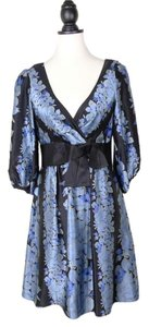 Nanette Lepore Silk Bow Dress