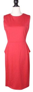 Elie Tahari Peplum Dress