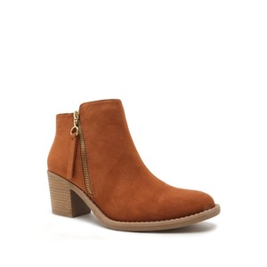 Qupid Rust Boots