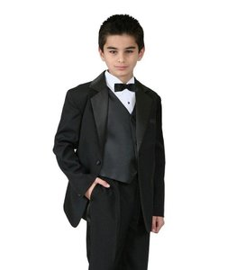 Black Boys Kids Children Formal Dress Tuxedo