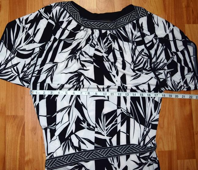 BCBG short dress Black & White on Tradesy