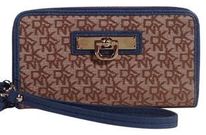 DKNY Wristlet in Chino Blue