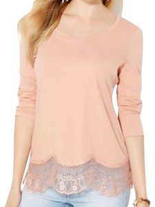 New York & Company Top peach