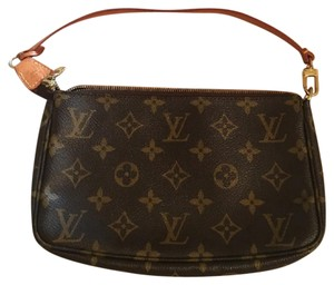 Louis Vuitton Brown/Tan Clutch