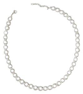Nadri Circle Link Cubic Zirconia Necklace