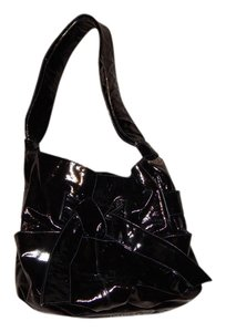 Kooba Patent Leather Feminine Bold Hobo Bag