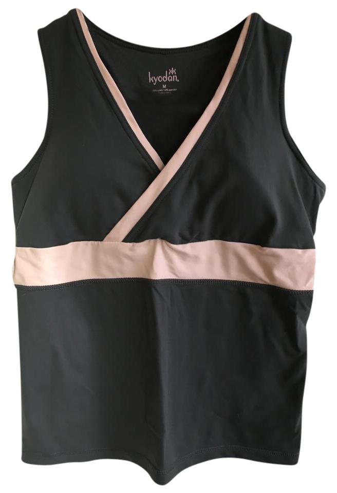 1e65397ef4 Kyodan Gray and Pink Workout Activewear Top Size 8 (M, 29, 30) - Tradesy