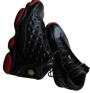 Air Jordan Black and Red Athletic