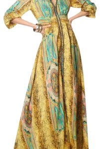 yellow Maxi Dress by Gracia
