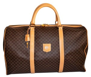 Céline Macadam Monogram Brown Travel Bag