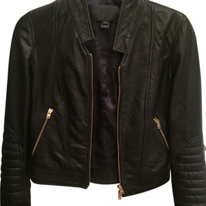 J.Crew black Leather Jacket