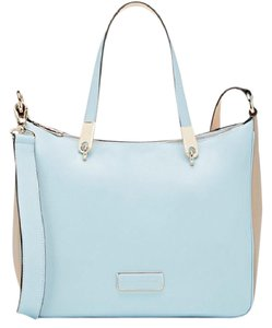 Marc by Marc Jacobs Satchel in Powder Blue/Taupe