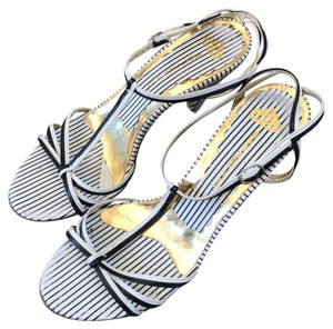 Fornarina black and white Sandals