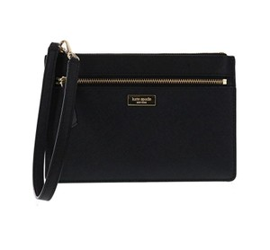 Kate Spade Tinie Laurel Way Wristlet in Black