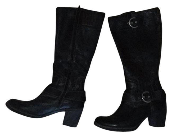Item - Black Riding Boots/Booties Size US 10 Wide (C, D)
