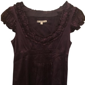 Nanette Lepore Top purple / eggplant
