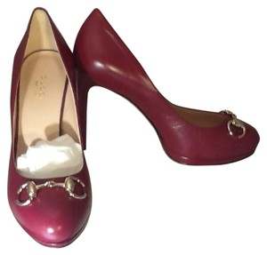Gucci Cranberry Pumps
