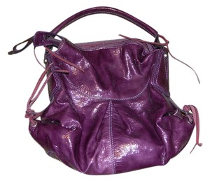 Francesco Biasia Statement Tote in Purple