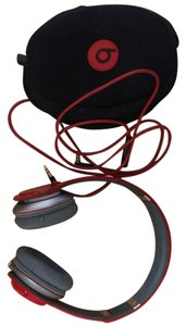 Beats By Dre Solo HD special edition beats red
