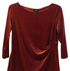 Jones New York Top ruby red